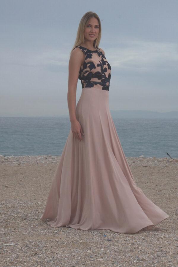 φόρεμα μπούστο δαντέλα
