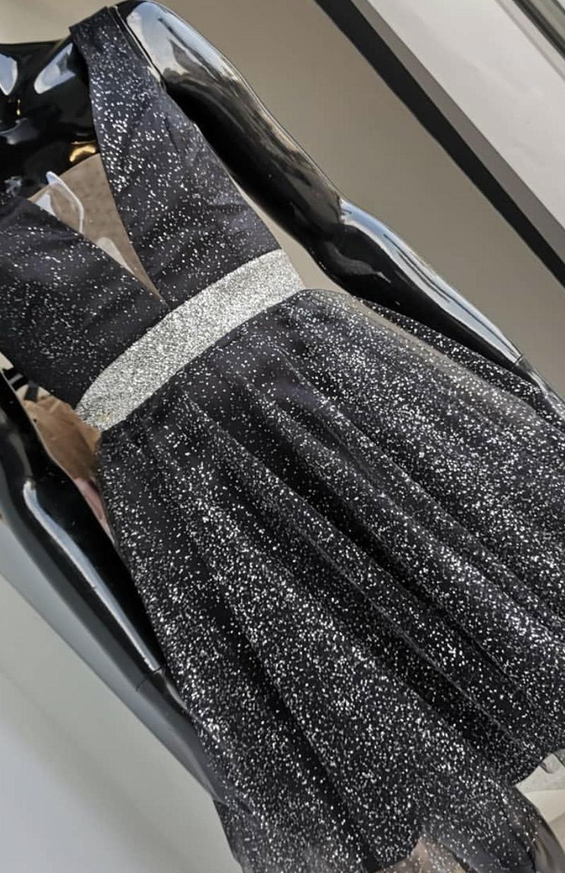 φόρεμα κοντό τούλι