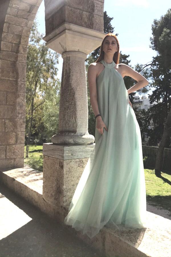 φόρεμα τούλι glitter