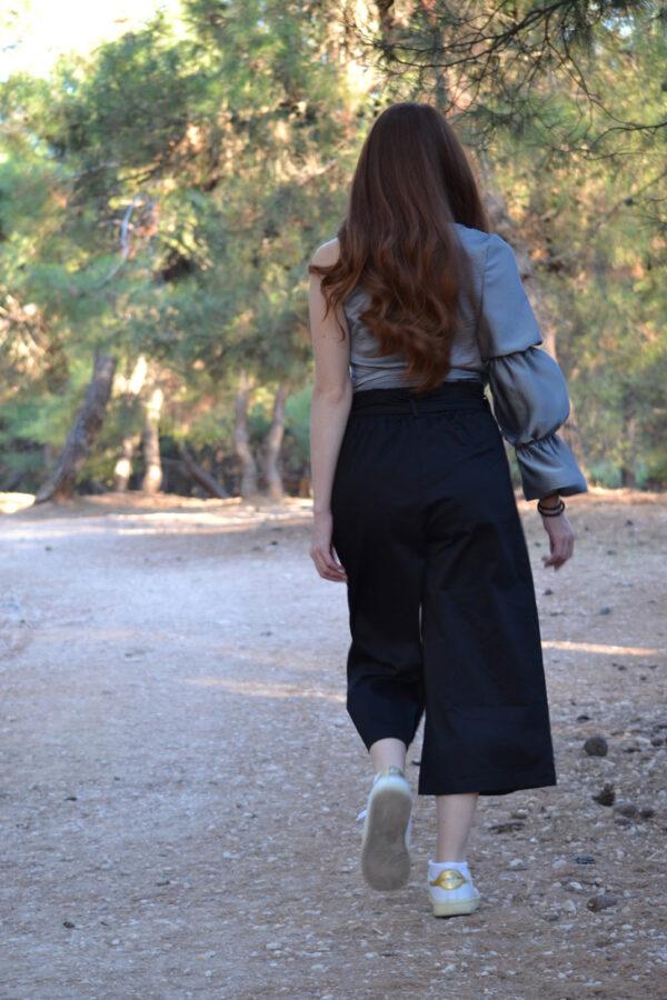 παντελόνι ζίπ κιλότ